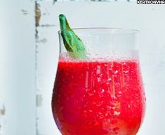 Healthy Drinks, Smoothie Recipes, Wine Glass, Watermelon, Fruit, Tableware, Blog, Shake, Dinnerware
