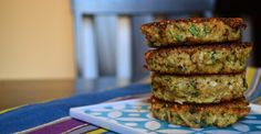 Basil Quinoa Cakes//I absolutely love these. Granted, I'm a quinoa lover in general, but these are really good.
