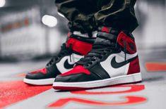 Air Jordan 1 Retro High OG Bred Toe Releasing Next Weekend #sneakersjordans