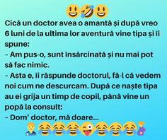 """Satiră și umor: Un doctor avea o amantă, după 6 luni, tipa îi spune: """"Sunt însărcinată și nu mai pot face nimic"""""""