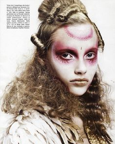 Next Level Face Paint from Vogue Italia