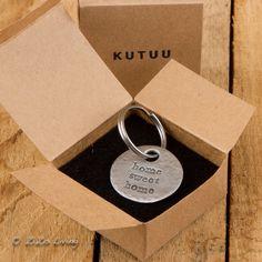 Kutuu Sleutelhanger - Home Sweet Home -