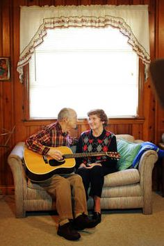 CLICK ON THIS and watch the slideshow/video below.  This is TOTALLY THE MOST PRECIOUS video you will watch today.....@Diana Kleven Sundays were special to Arthur and Loretta Quesinberry.They married on a Sunday, and each subsequent Sunday over the next 65-plus years seemed like another song-filled anniversary.