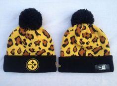 Bonnet New Era NFL Pittsburgh Steelers Jaune Leopard   Casquette Pas Cher 24c5fbaf901e