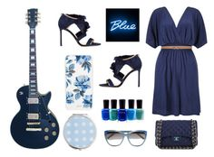"""""""Blue"""" by freckled-gypsy ❤ liked on Polyvore featuring John Lewis, Jimmy Choo, Max Studio, Sonix, Zoya, Seletti, Miss Selfridge, Chanel and Chloé"""