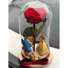 Gorgeous dome with red eternal rose . Delivery worldwide! Contact us: contact@buchetino.com .   The rose is eternal and we guarantee that the rose will last for at least 3 years.