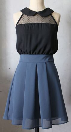 Pixie Color Block Dress.. I'd like this better with a white shirt than a black one