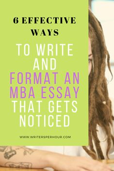 How can you write a solid MBA essay format? Apply the fundamental rules for thesis format when writing and formatting an MBA essay. Essay Tips, Essay Prompts, Essay Writing Tips, Writing A Book, Mba Degree, Rule Of Thumb, Business Writing, Spelling And Grammar, Good Student