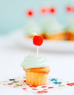 apple cupcake...