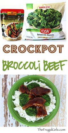 Slow Cooker Broccoli Beef Recipe from TheFrugalGirls.com
