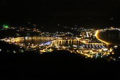 Vista nocturna desde San Roque