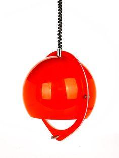 Joe Colombo, Orange pendant…