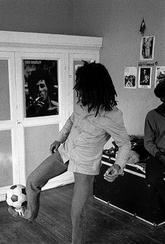 Bob and football - I love Bob ;)