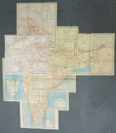 layers on layers of maps
