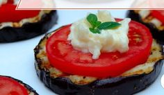 Appetizer of eggplant.