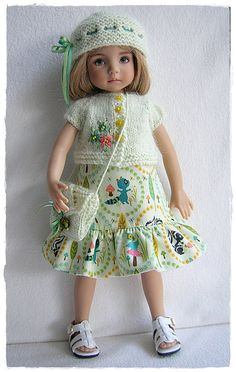 Forest Animals Dress For Little Darling | Flickr - Photo Sharing!