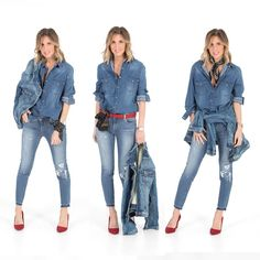 Or which body shape Basic Outfits, Casual Fall Outfits, Cute Outfits, Denim Fashion, Fashion Outfits, Womens Fashion, Fashion Trends, Woman Outfits, Style Fashion