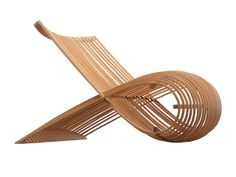 WOODEN CHAIR by Marc Newson, 1988.