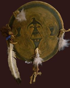 Sioux War Shield / Plains Indian Shield Mixed Media