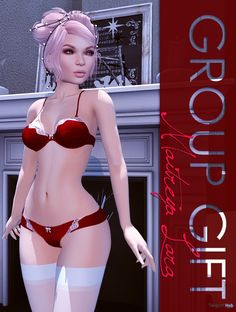 Mikaela Lingerie Christmas 2016 Group Gift by MAAI