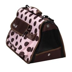 Our pet life airline approved folding zippered casual carrier w/ bottle holder is our most popular of all. This pet carrier then velcro's in place. This carrier is airline approved and features a ve.