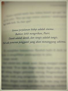 dee_supernova-ksatria putri dan bintang jatuh #novel #indonesia #quote