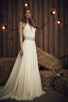Jenny Packham Bridal 2017 Collection - Daisy with Belt