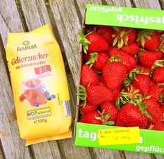Klassische Erdbeer Marmelade mit Rohrzucker einfach selbst machen | feinschmeckerle foodblog reiseblog stuttgart, reutlingen, schwäbische alb