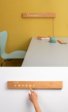 Smart home interface mui By mui Lab Design Products, Product Design, Family Calendar, Interface Design, Quality Time, Smart Home, Floating Nightstand, Innovation, Design Ideas