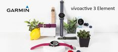 Garmin Vivoactive 3 Element flaunts 1.2-inch 240 * 240 pixels Garmin Chroma display which is comfortable to read in direct sunlight. Tab to know more. Gadget News, Fitness Activity Tracker, Sports App, Display Resolution, Sweat Proof, Gps Tracking, Sunlight, Things To Come, Sun Light
