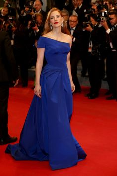 """Jessica Chastain - """"The Disappearance Of Eleanor Rigby"""" Premiere - The 67th Annual Cannes Film Festival"""