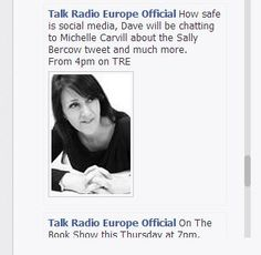 Michelle talks Social Media Know How with Talk Radio Europe