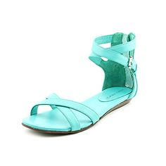 #hot Rebecca Minkoff Women's Bettina Sandal,Hot Teal,6.5 M US