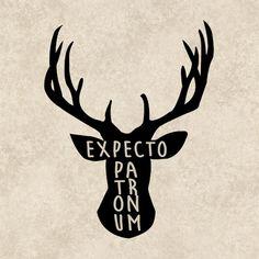 Harry Potter Decal Expecto Patronum Sticker Harry by TheHenCompany