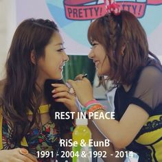 Ladies' Code RiSe and EunB Rest In Peace