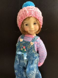 """Outfit for Dianna Effner Doll Little Darling 13"""" 3pc."""