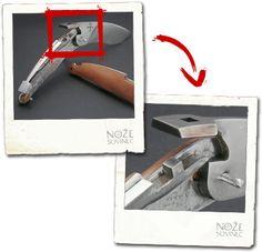 systém zavíracího nože