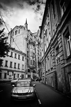 Moscow. The Blagoveshchensk lane