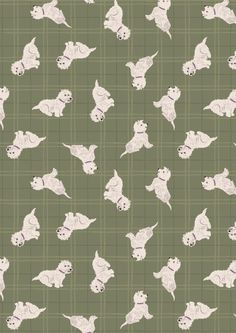 A Walk In The Glen Warm Grey Tumbled Westies by Lewis & Irene Designer Fabrics Online, Fabric Online, Christmas Fabric, Winter Christmas, Sewing Projects, Craft Projects, Cotton Quilting Fabric, Gorgeous Fabrics, Warm Grey