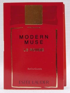 Estee Lauder Modern Muse Le Rouge .05 FL OZ 1.5 ML New #EsteeLauder