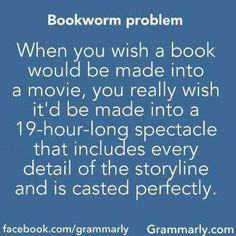 And not something like Percy Jackson and the lightning thief