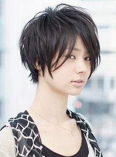 Shaggy Bob Hairstyle www.korigami.vn + www.facebook.com/kuansaigon