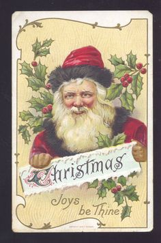Old World Santa  1909