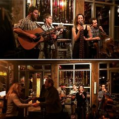 Pixie and the Partygrass Boys at Silver Star Cafe! Such a fun night! #partygrassmusic #livemusic #dinnershow