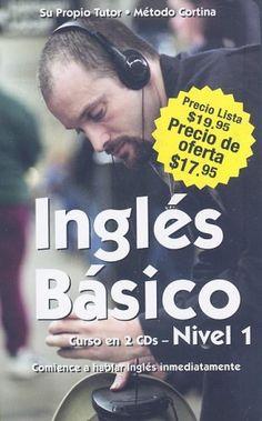 Ingles Basico, Nivel 1 [With Paperback Book] (Spanish Edition) by Cortina Language Institute Staff,http://www.amazon.com/dp/084897736X/ref=cm_sw_r_pi_dp_cEqrsb1GJX08J51X