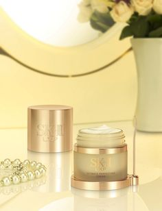 SK-II's LX Revival Cream - $350 an ounce.  Go for Dove and save the $$