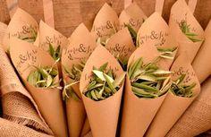 ideas para sustituir el arroz en las bodas