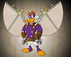 Steampunk Darkwing Duck - I LOVE Darkwing Duck!