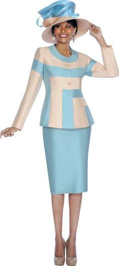 ebony ladies dress suits | ... Sunday Exclusive by BenMarc Ladies ...