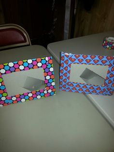 My first duck tape project VBS 2013